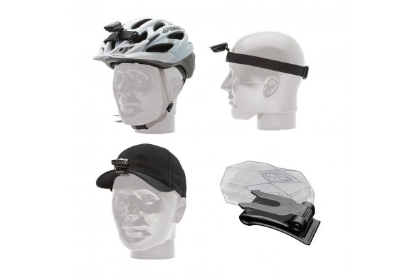 Flea Helmet, Head & Hat Mount Kit